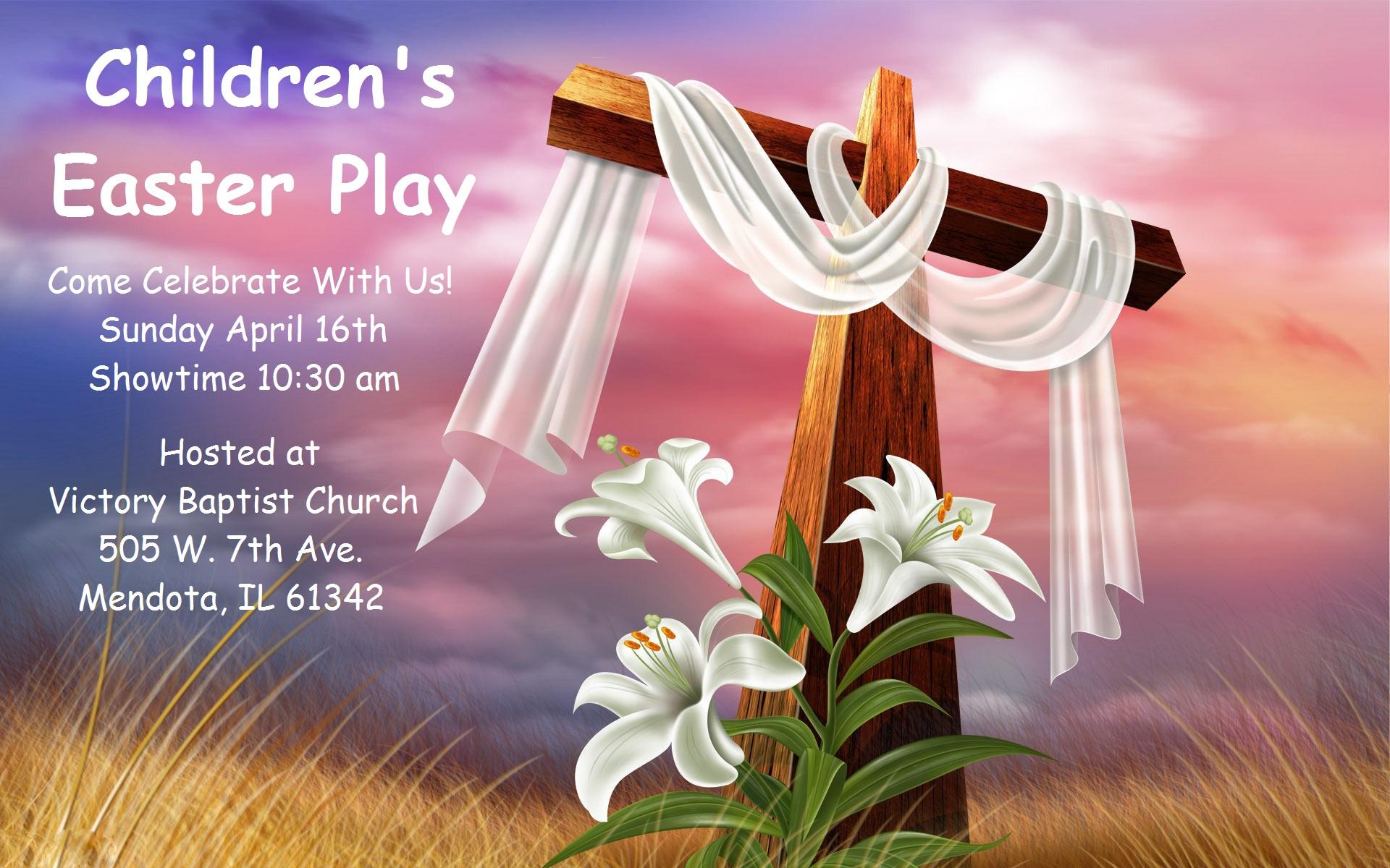 children u0027s easter play